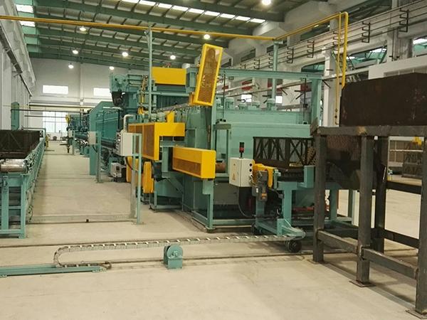 Roller spheroidization annealing furnace plants